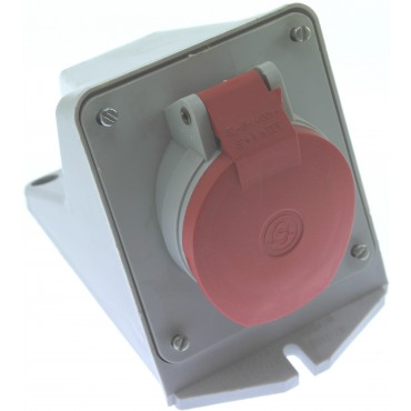 Cee Wcd Rood 32Amp 4-Polig 3P+N Opbouw D42.30