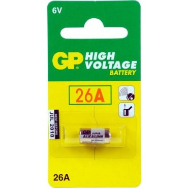 G.P Rondcell Gp26A 6.0V 7.7X15.3Mm