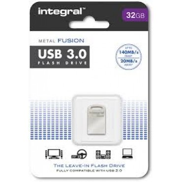Integral Geheugen Usb Flash Drive 32Gb Metal Fusion USB 3.0