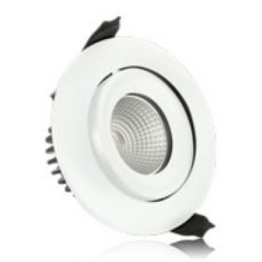 Integral Led Inb.spot Wit Fire 6W 4000K 450L Wentel Dimb 92/100mm 36gr ILDLFR92C003