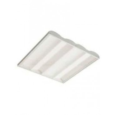 Interlight Ledpaneel Waves 38W 3000K 3800Lm incl driver 1-10v dimbaar 600x600mm IL-P595WK3D
