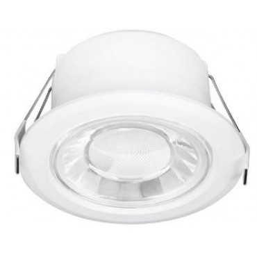 Enlite LED Inbouwspot Spryte 10w 3000K 830L Vast en Dimbaar Gatmaat 82/105mm IP44